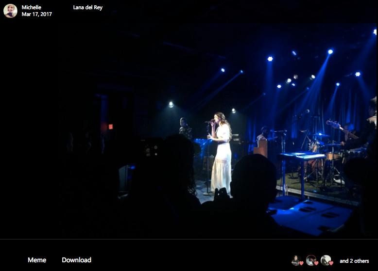 Lana Del Rey at Apple Music